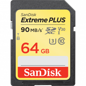 SanDisk® Extreme PLUS SDXC Card 64GB