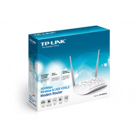 TPLINK® 300Mbps Wireless N USB VDSL2 Modem Router