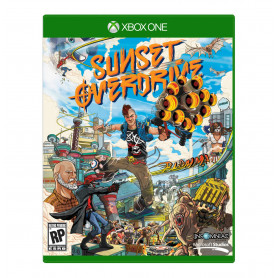 Xbox 1 Sunset Overdrive Pre-owned