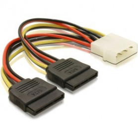 1x 4Pin molex to 2x Sata power converter