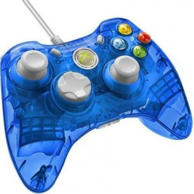 PDP Rock Candy Wired Controller for Xbox 360 - Blueberry Boom (AU)
