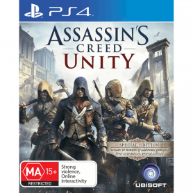 Ps4 Assassins Creed Unity Pre-owned
