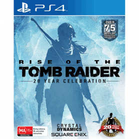 Ps4 Rise Of The Tomb Raider Pre-owned