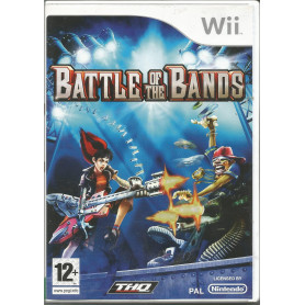 Wii Battle Of The Bands Pre-owned