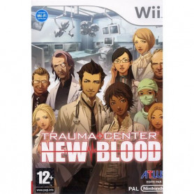 Wii Trauma Centre New Blood Pre-owned
