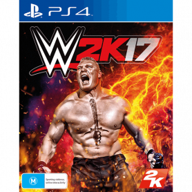 Ps4 Wwe 2k17 Pre-owned