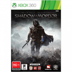 Xbox 360 Middle Earth Shadow Of Mordor Pre-owned