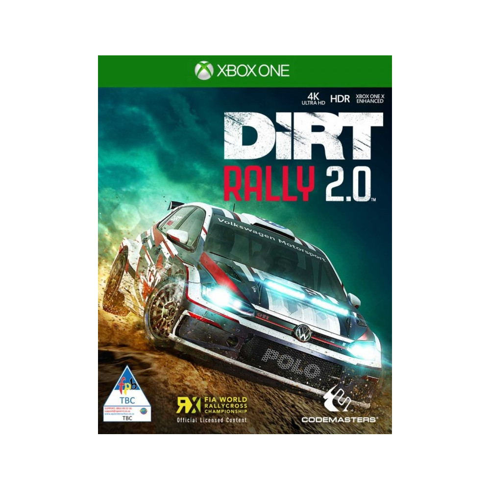 xbox one dirt rally 2 0. Black Bedroom Furniture Sets. Home Design Ideas