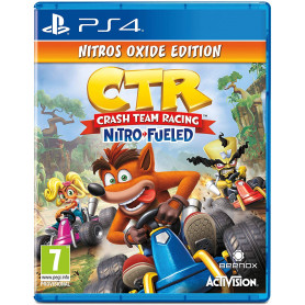 PS4 Crash Racing Team Nitros Oxide Edition