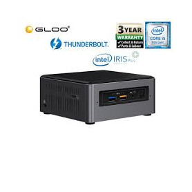 Intel Next Unit of Computing Kit NUC8I5BEH Mini PC Core i5 8259U 0MB RAM 0GB HDD