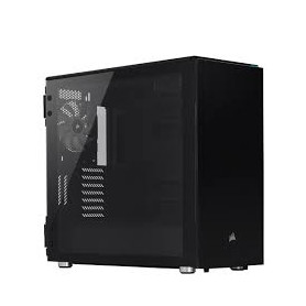 Corsair CC-9011167-WW Carbide 678C Tempered Glass Black Steel ATX Mid-Tower Quiet Gaming Desktop Chassis