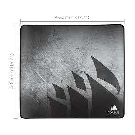 MM350 Premium Anti-Fray Cloth Gaming Mouse Pad – X-Large