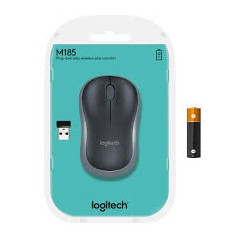 Logitech M185 Wireless Optical Mouse 910-002236 Red