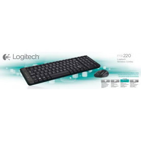 Logitech Wireless Combo MK220 Keyboard and Mouse Set 920-003161