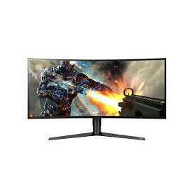 "LG 34GK950G 34"" UWQHD (3440x1440) 120Hz 5ms 21:9 IPS Gsync Curved Desktop Monitor"