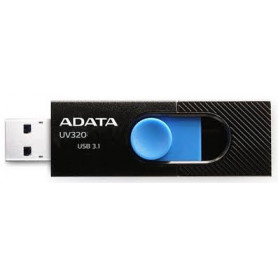 A-Data UV320 32GB Blk + Blue USB3.0 Flash Drive